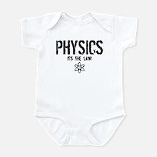 Physics - It's the Law! Infant Bodysuit