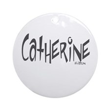Catherine Ornament (Round)
