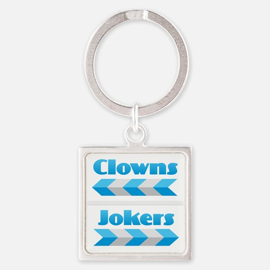 Clowns and Jokers Keychains