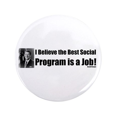 "Ronald Reagan Quote 3.5"" Button (100 pack)"