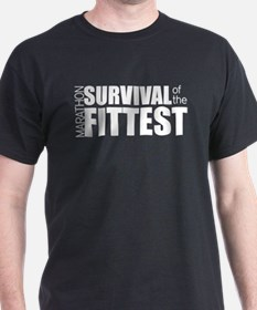 Survival of the Fittest Marathon T-Shirt