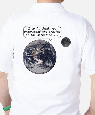Gravity of the situation Golf Shirt