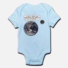 Gravity of the situation Infant Bodysuit