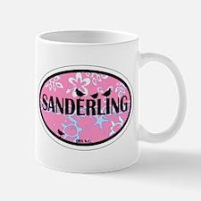 Sanderling NC - Oval Design Mug