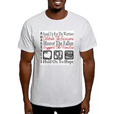 Brain Cancer StandUp T-Shirt