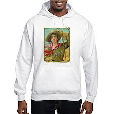 Cool Vintage Cowgirl Hoodie