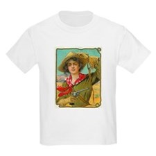Cool Vintage Cowgirl T-Shirt