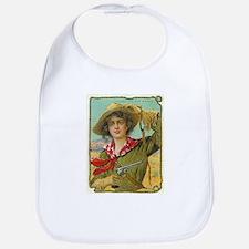 Cool Vintage Cowgirl Bib