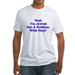 Jewish Pride Fitted T-Shirt