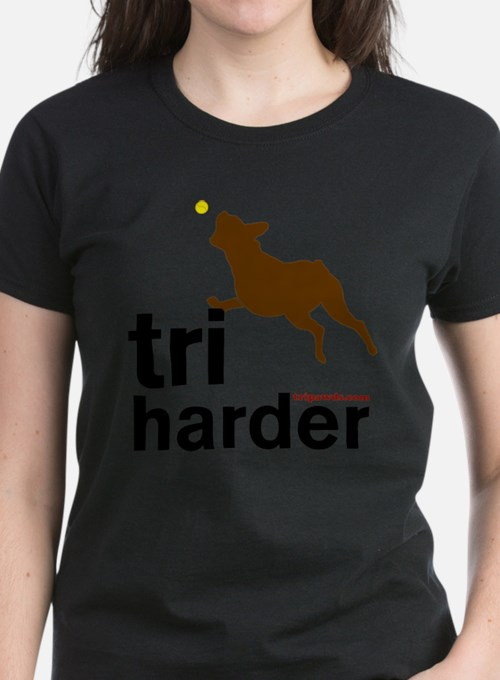 Tri Harder Boxer T-Shirt