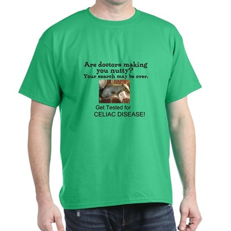 Gluten Free Squirrel Dark T-Shirt