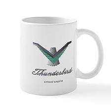 T Bird Emblem with Script Mug