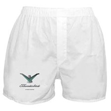 T Bird Emblem with Script Boxer Shorts