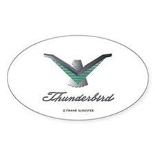 T Bird Emblem with Script Decal