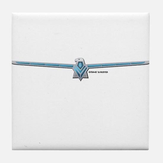 66 T Bird Emblem Tile Coaster