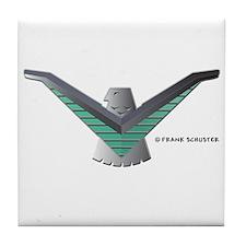 T Bird Emblem Bird Tile Coaster