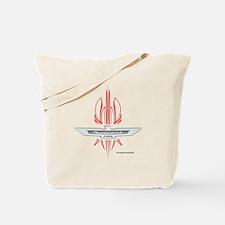 T Bird Emblem Pinstripes Tote Bag