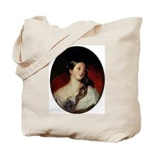 Cute Queen is not amused Tote Bag