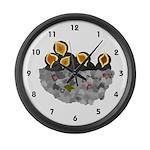 Birdies Large Wall Clock