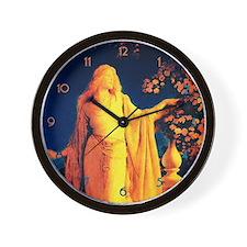 Maxfield Parrish Cinderella Wall Clock