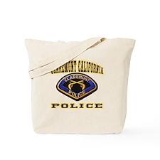 Claremont California Police Tote Bag