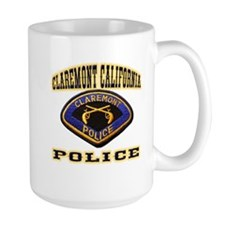 Claremont California Police Mug