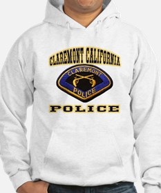 Claremont California Police Hoodie