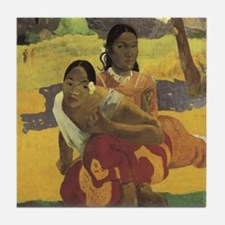 Paul Gauguin When Will You Marry Ceramic Art Tile
