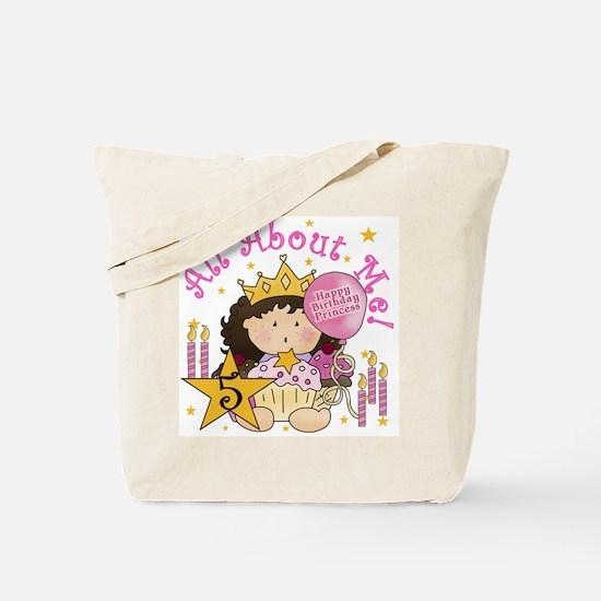 5th Princess Birthday Tote Bag