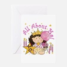 5th Princess Birthday Greeting Card