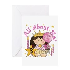 3rd Princess Birthday Greeting Card