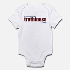 Give Truthiness a Chance - Infant Bodysuit