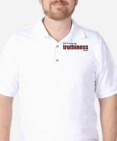 Give Truthiness a Chance - Golf Shirt