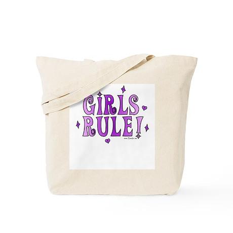 Girls Rule! Boys Drool! Tote Bag