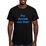 I'm Jewish Men's Fitted T-Shirt (dark)
