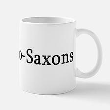 I Love Anglo-Saxons Small Small Mug