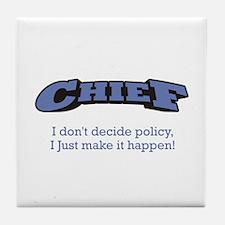 Chief - Happen Tile Coaster