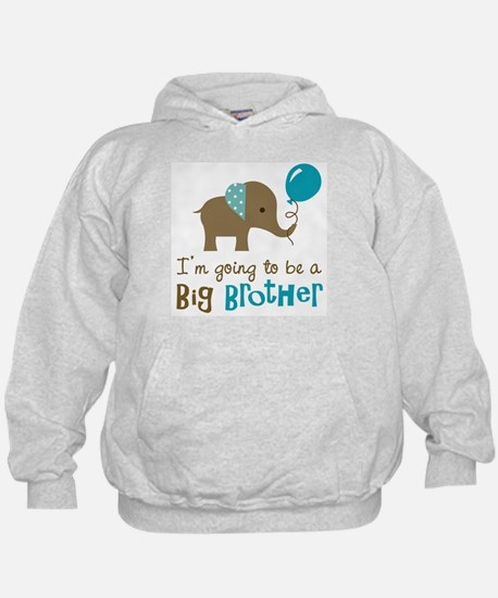 Big Brother to be - Elephant Hoodie