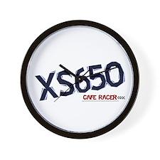 XS650 Cafe Racer Wall Clock