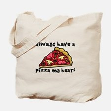 Pizza My Heart Tote Bag