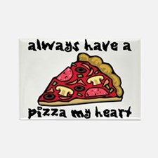 Pizza My Heart Rectangle Magnet (10 pack)