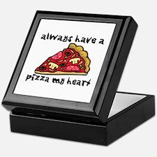Pizza My Heart Keepsake Box