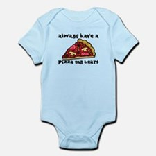 Pizza My Heart Infant Bodysuit