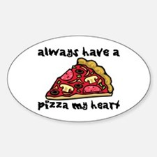 Pizza My Heart Decal