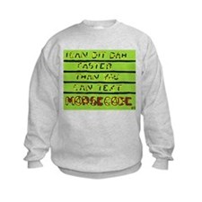 Unique Ham radio morse Sweatshirt