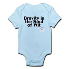 Brevity is the Soul of Wit Infant Bodysuit