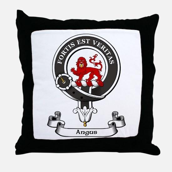 Badge - Angus Throw Pillow