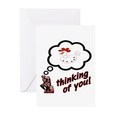 Thinking of You Chicken Greeting Card
