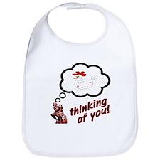 Thinking of You Chicken Bib