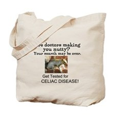 Gluten Free Squirrel Tote Bag